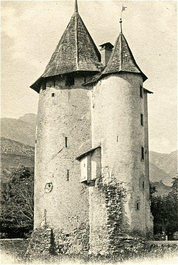 Sion, la tour des sorciers