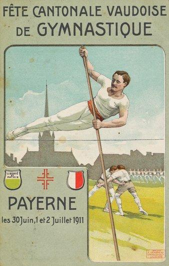 Fête cantonale vaudoise de gymnastique 1911