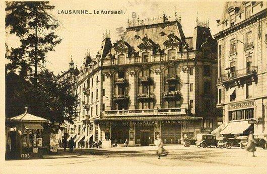Le Kursaal à Lausanne