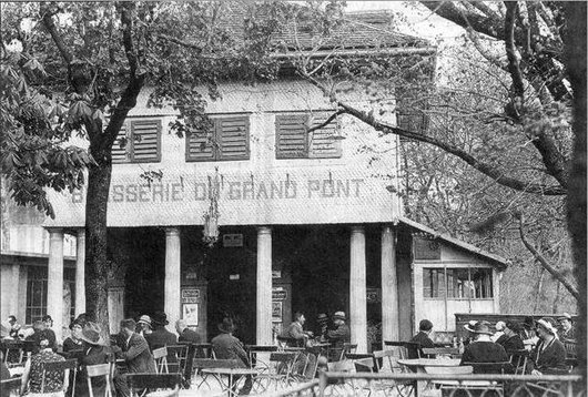 Frbourg Café du grand pont