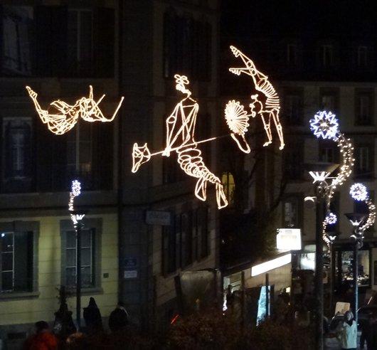 «Les Funambules» Festival Lausanne Lumières 2014