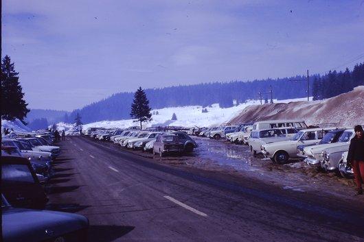 Saint-Cergue en hiver 1970