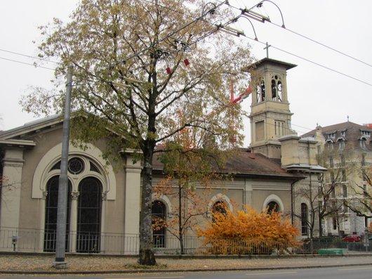 Lausanne temple de la Croix d'Ouchy