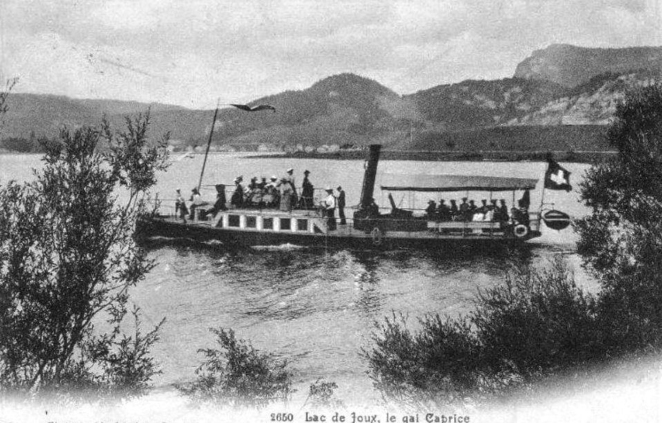 Lac de Joux, le gai caprice