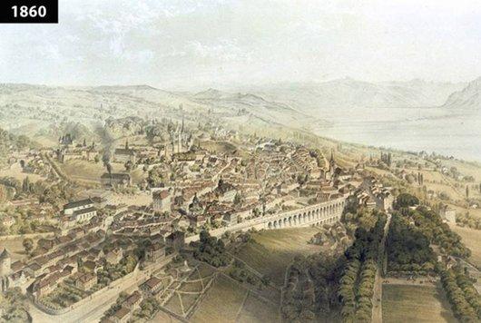 Lausanne d'autrefois