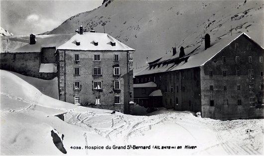 Le Grand-Saint-Bernard, l'hospice