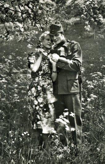 Le soldat amoureux