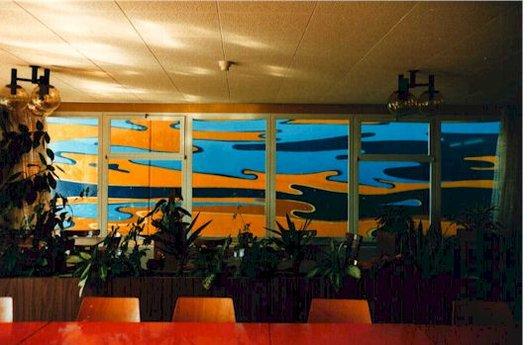 Peinture murale, Hôpital de Montreux