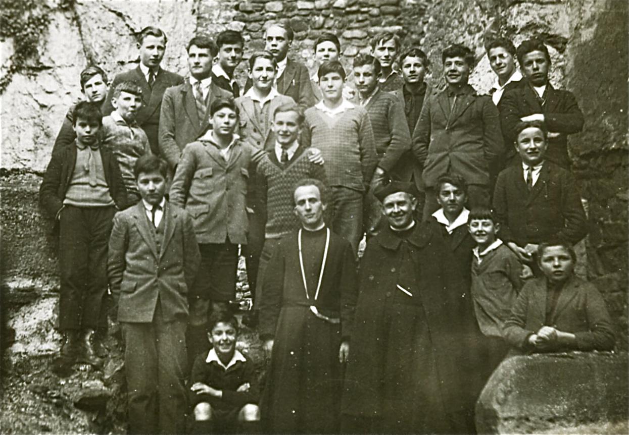 Une classe du Collège de St-Maurice