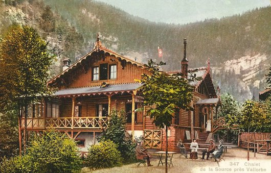 Chalet de la Source - Vallorbe