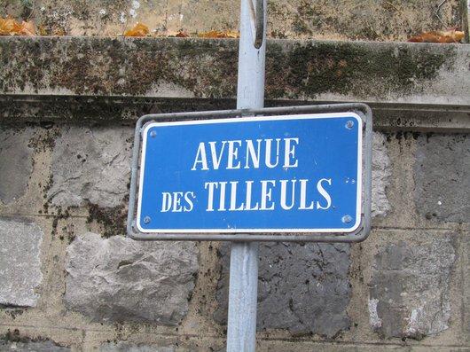 Lausanne av. des Tilleuls