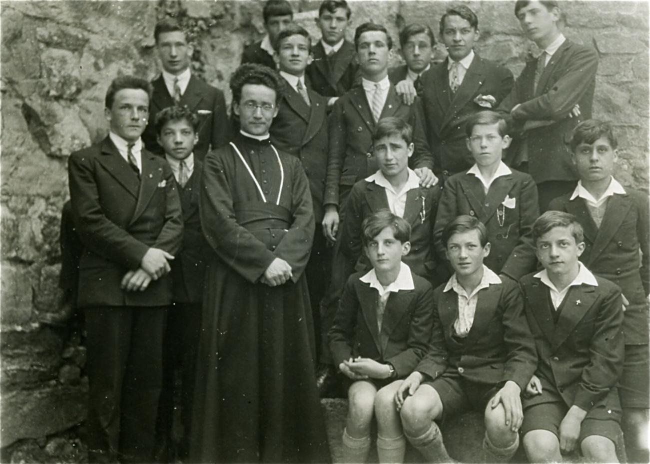 St-Maurice, des internes du Collège