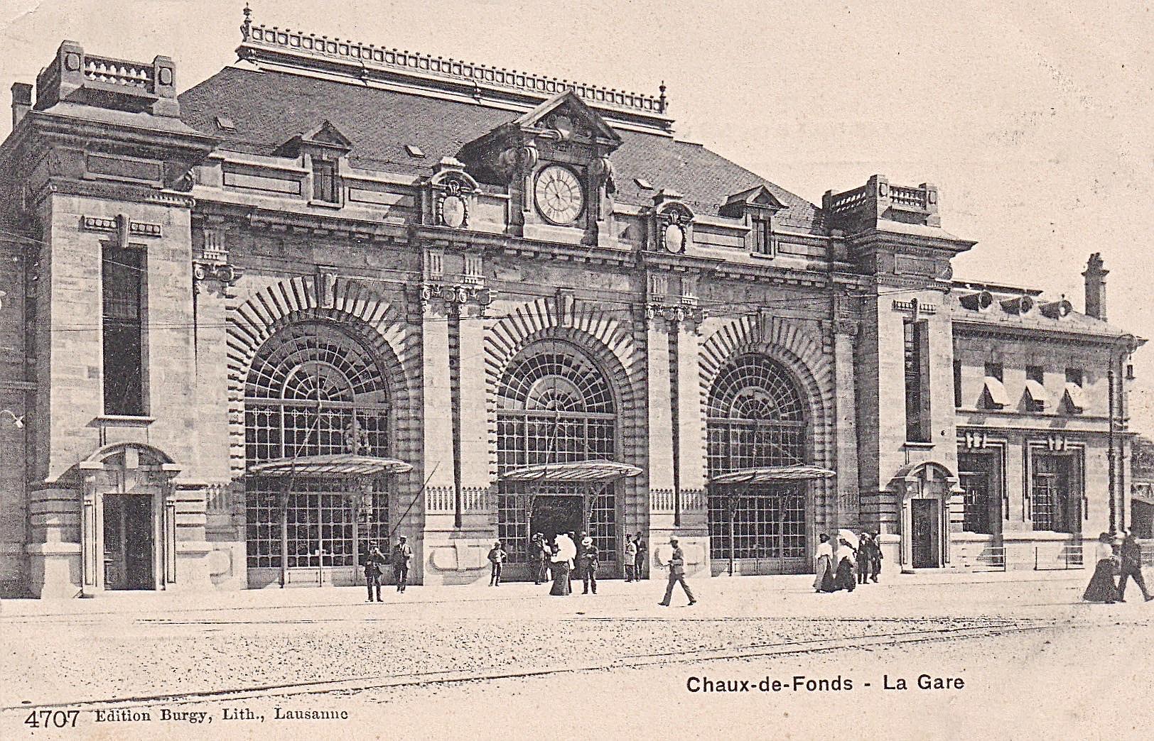 La Chaux-de-Fonds, la gare