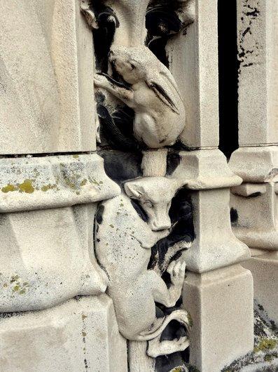 Cathédrale de Lausanne - Le bestiaire sculpté