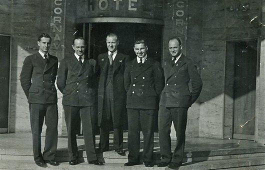 Les concierges de l'Hôtel Cornavin