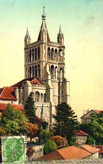 Lausanne autrefois.....