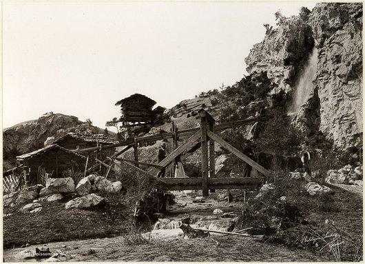 """Une partie alpestre du """"Village suisse"""""""