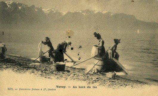 Vevey - Les lavandières