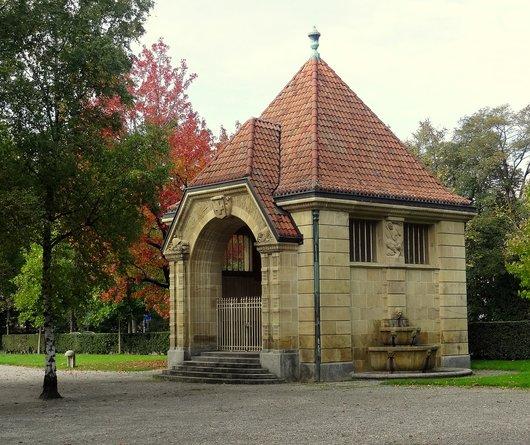 Lausanne - Chapelle de Guillaume Tell