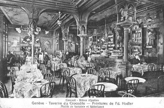 Genève,  Taverne du Crocodile
