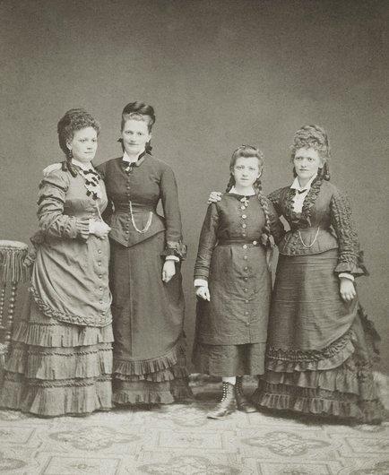 Les quatre filles d'Alexandre Daguet
