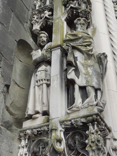 Cathédrale de Lausanne - Portail Montfalcon