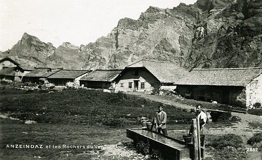 L'alpage d'Anzeindaz