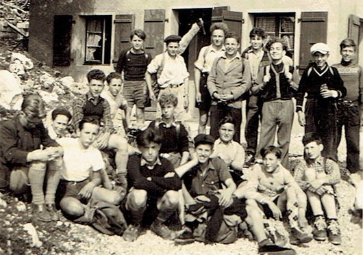 Course d'école au Chalet du Grütli
