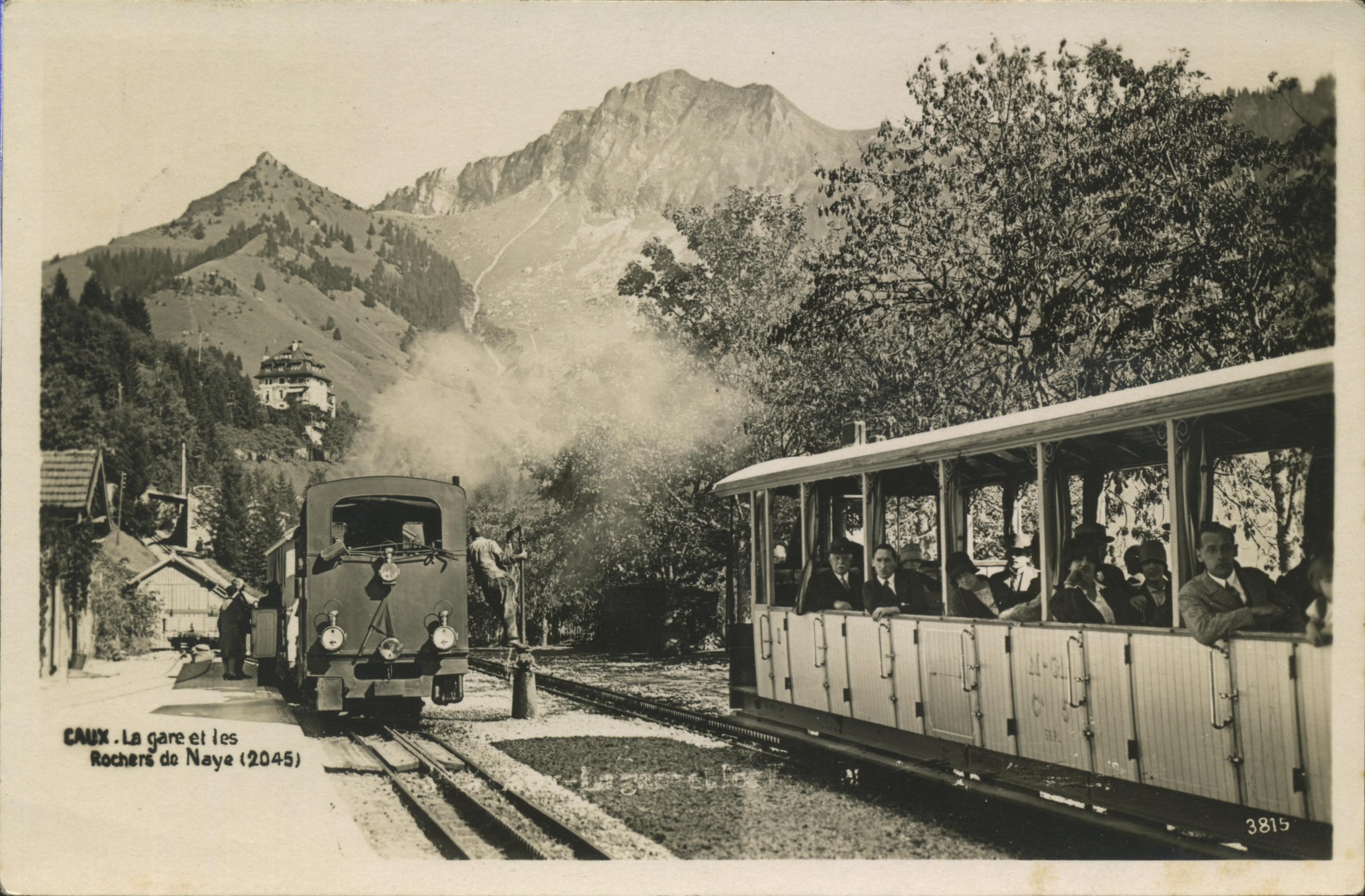 Le  train des montagnes
