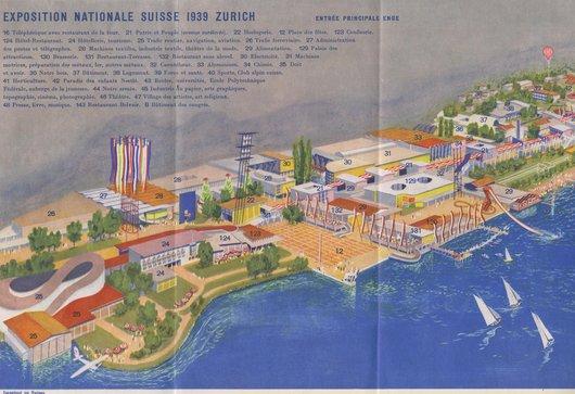 Expo 39, intérieur du prospectus (1)