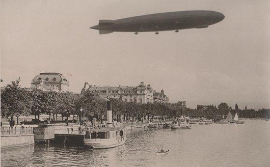 Amerika Zeppelin au-dessus de Zürich