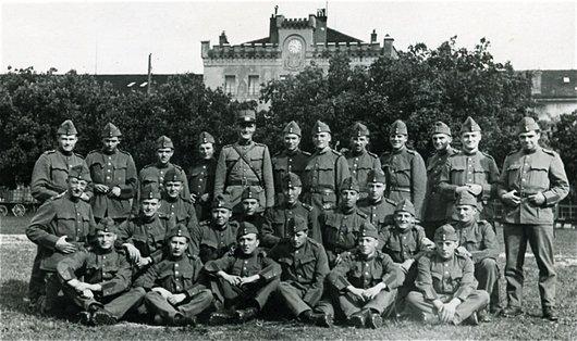 Photo souvenir de l'armée
