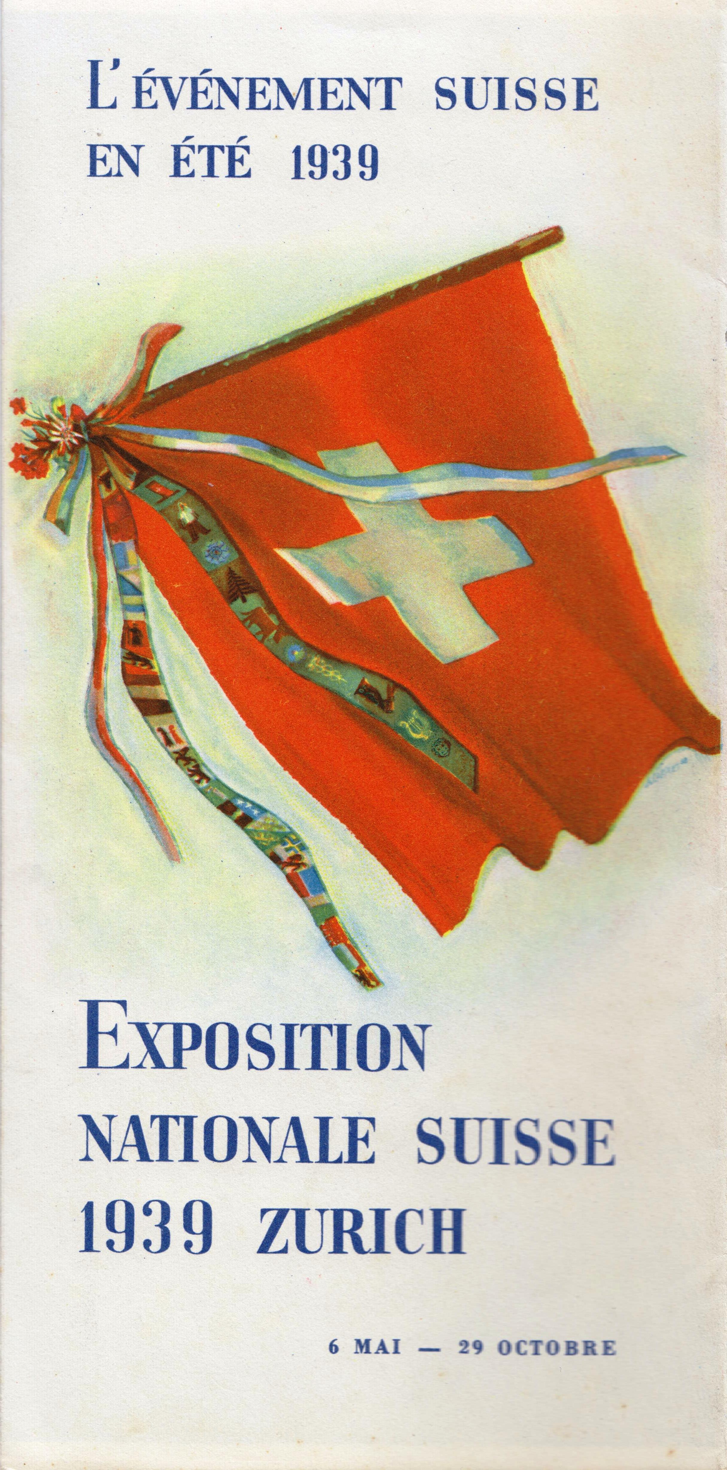 Expo 39, le prospectus officiel