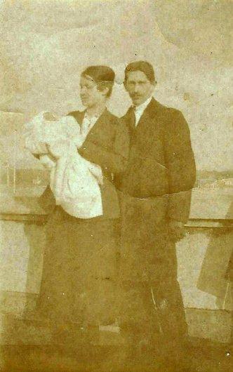 Augusta, Henri et Marguerite Grobet - Parcours de vie