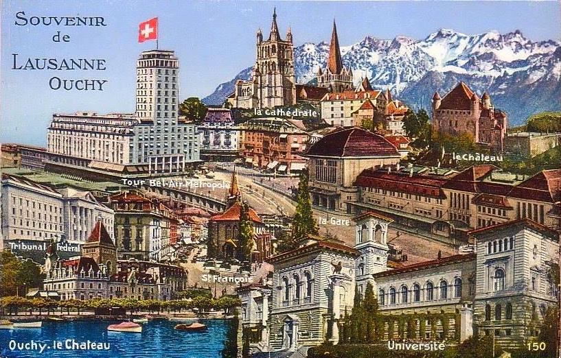Souvenir de Lausanne-Ouchy