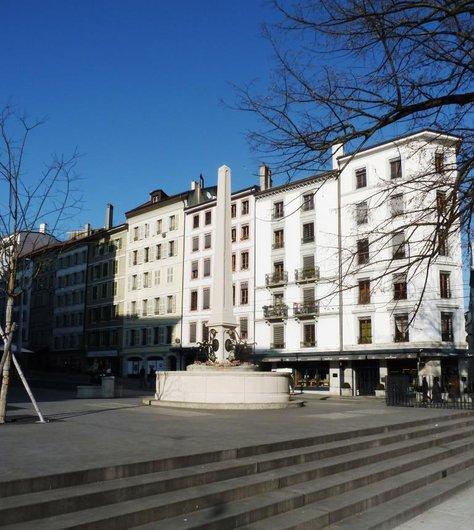 Fontaine de la Place de Saint Gervais