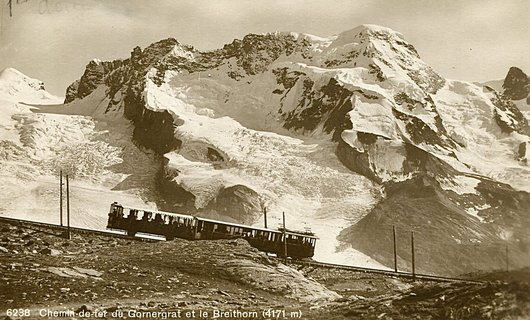 Vers le Gornergrat en train