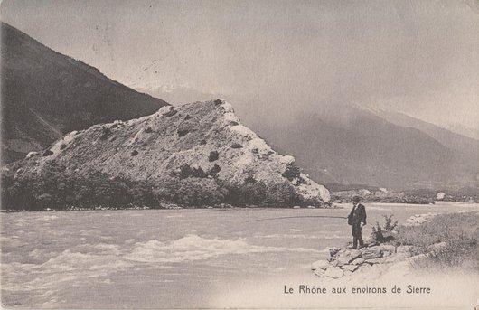 Rhône aux environs de Sierre