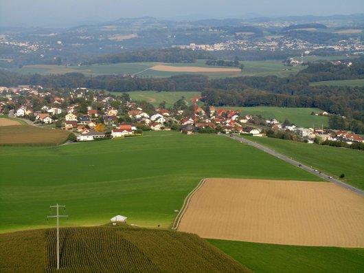 Vol en montgolfière au dessus de canton de Fribourg
