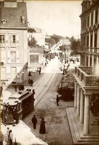 Lausanne autrefois....et son tram....