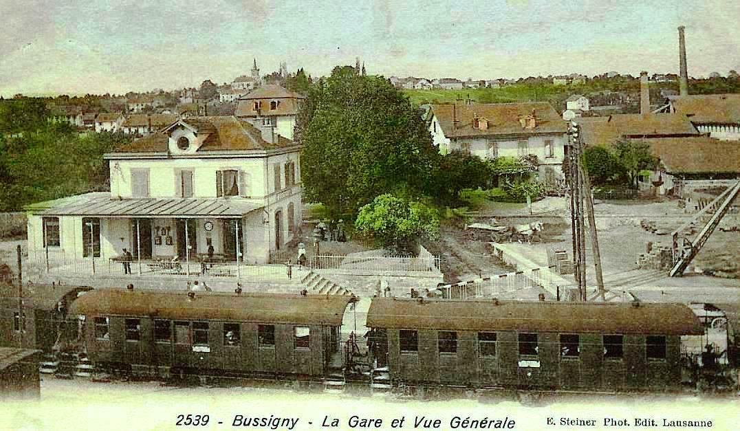 Gare de Bussigny