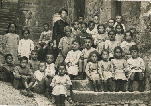 St-Saphorin Classe d'école durant la 1ère guère 3/3