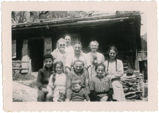 Val d'Arpette vers 1945