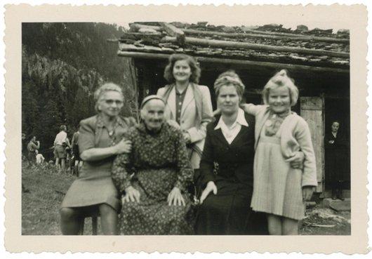 Val d'Arpette vers 1946