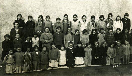 Chalais, photo de classe