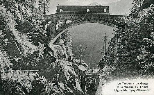 Le train, Martigny-Châtelard-Chamonix