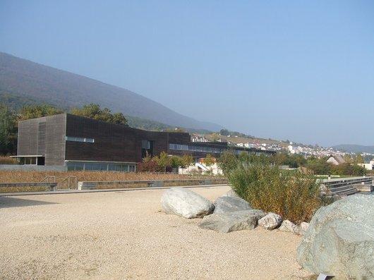 Le Musée du Laténium à Hauterive en 2007