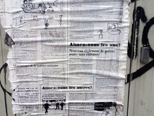 Journal de rue