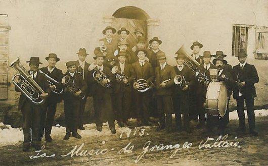 """La """"music"""" de Granges en 1913"""