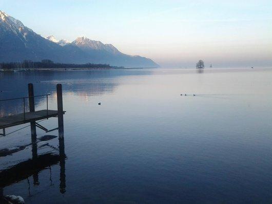 Villeneuve - bord du lac